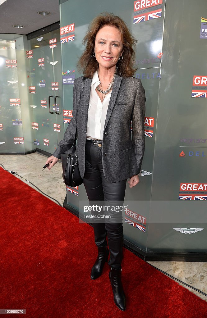 Actress Jacqueline Bisset attends the GREAT British film reception honoring the British nominees of the 87th Annual Academy Awards at The London West Hollywood on February 20, 2015 in West Hollywood, California.