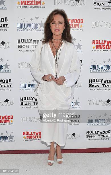Actress Jacqueline Bisset attends The Hollywood Chamber of Commerce The Hollywood Sign Trust's 90th Celebration of the Hollywood Sign at Drai's...