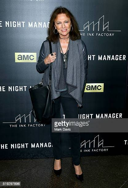 Actress Jacqueline Bisset attends the premiere of AMC's The Night Manager at DGA Theater on April 5 2016 in Los Angeles California