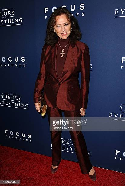 Actress Jacqueline Bisset attends the premiere of The Theory of Everything at AMPAS Samuel Goldwyn Theater on October 28 2014 in Beverly Hills...