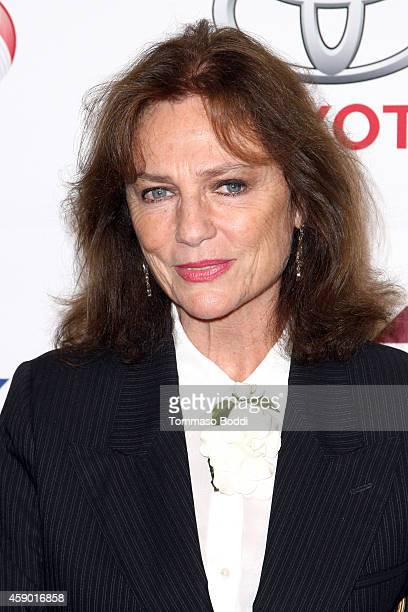 Actress Jacqueline Bisset attends the YWCA Greater Los Angeles Rhapsody Ball held at the Regent Beverly Wilshire Hotel on November 14 2014 in Beverly...