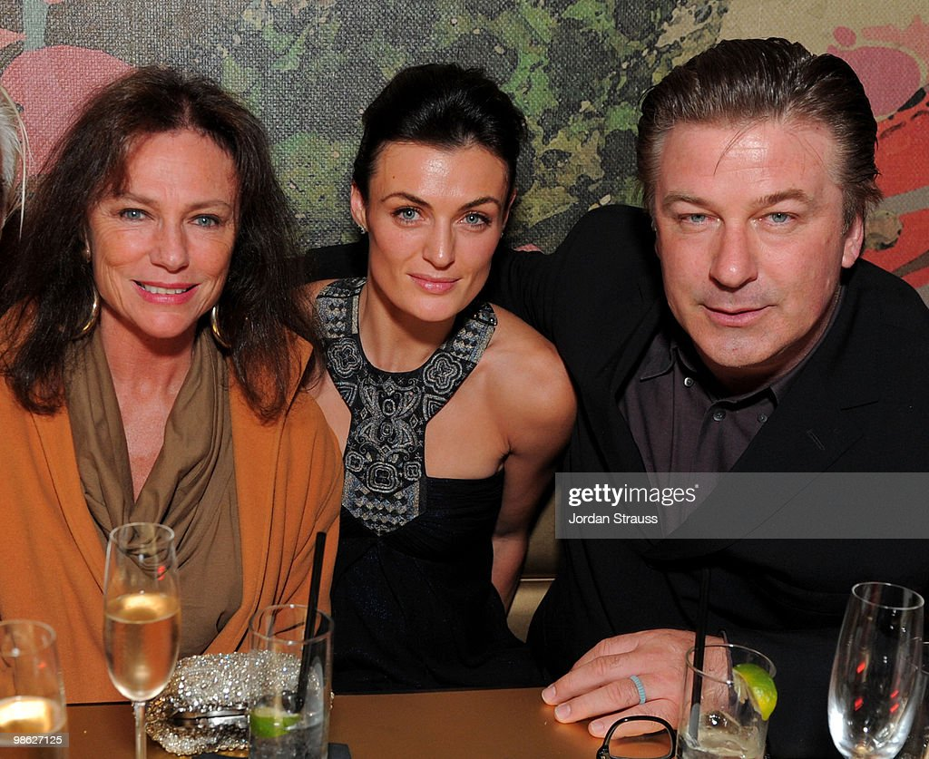 Actress Jacqueline Bisset, Lyne Renee and actor Alec Baldwin attend the TCM Classic Film Festival Vanity Fair after party held at Kress on April 22, 2010 in Hollywood, California. 19825_007_JS_0094.JPG