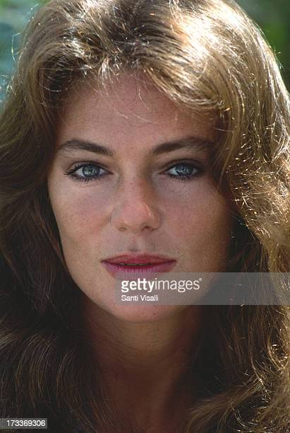 Actress Jacqueline Bisset posing for a portrait on November 151976 in Hamilton Bermuda