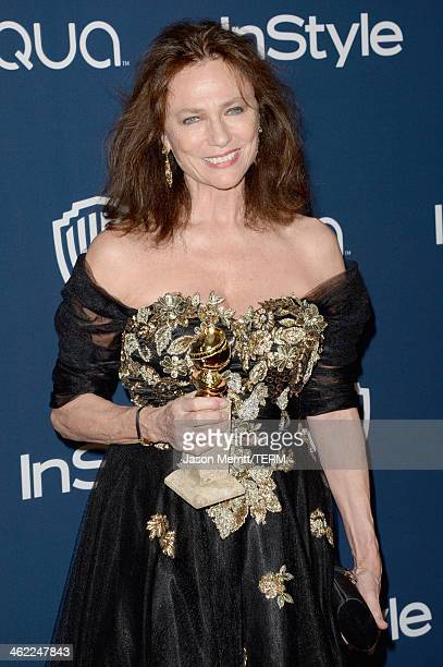 Actress Jacqueline Bisset winner of Best Supporting Actress in a Series Miniseries or Television Film for 'Dancing on the Edge' attends the 2014...