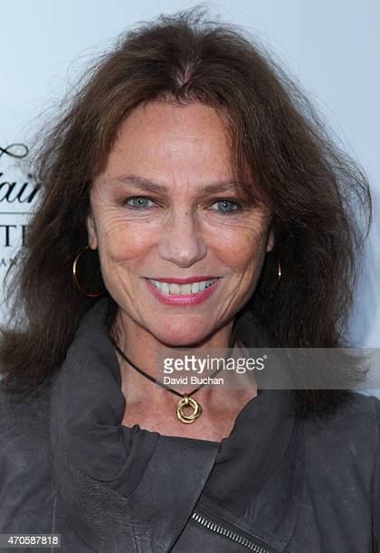 Actress Jacqueline Bissett arrives at the 9th Annual BritWeek launch party at the British Consul General's Residence on April 21 2015 in Los Angeles...