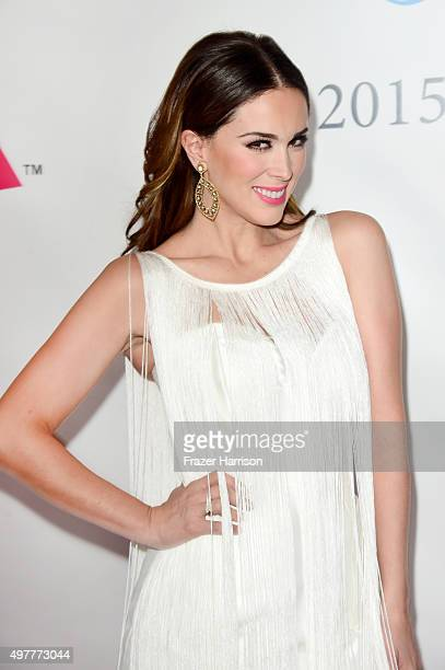 Actress Jacqueline Bracamontes attends the 2015 Latin GRAMMY Person of the Year honoring Roberto Carlos at the Mandalay Bay Events Center on November...