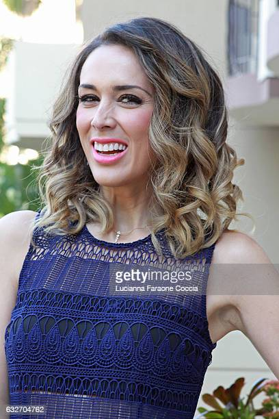 Actress Jacqueline Bracamontes poses for portait at press junket for Pantelion Films' 'Un Padre No Tan Padre' at Four Seasons Hotel Los Angeles at...