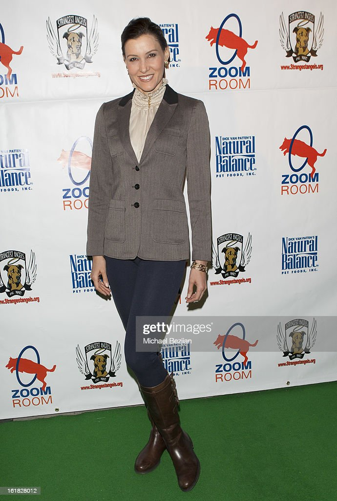 Actress Jacqueline Depaul attends Hooray for Hollywoof! Grand Opening and Launch Party for Zoom Room at Zoom Room on February 16, 2013 in Sherman Oaks, California.