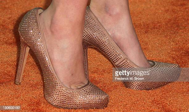 Actress Jacqueline Emerson attends the Nickeloden TeenNick HALO Awards at the Hollywood Palladium on October 26 2011 in Hollywood California
