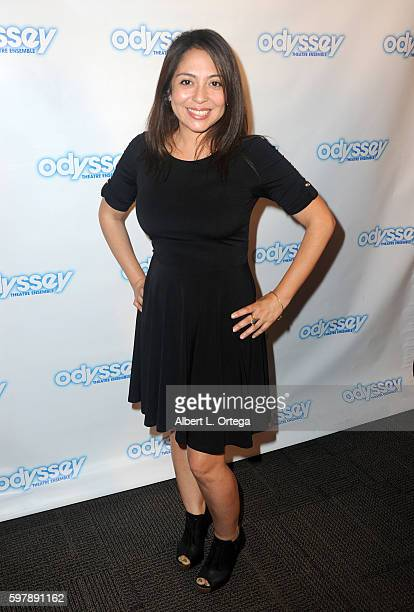Actress Jacqueline Guido arrives for the Reading Of 'The Blade Of Jealousy/La Celsa De Misma' held at The Odyssey Theatre on August 29 2016 in Los...