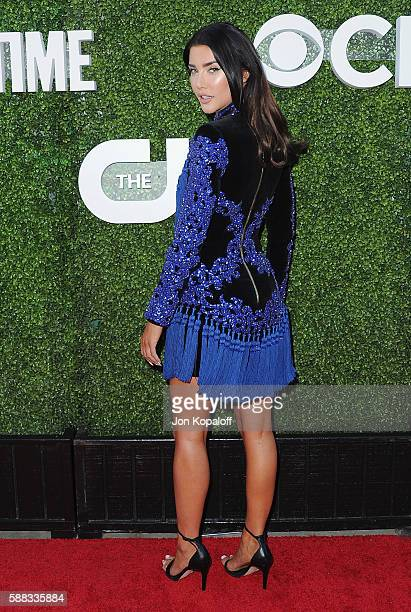 Actress Jacqueline MacInnes Wood arrives at CBS, CW, Showtime Summer TCA Party at Pacific Design Center on August 10, 2016 in West Hollywood,...
