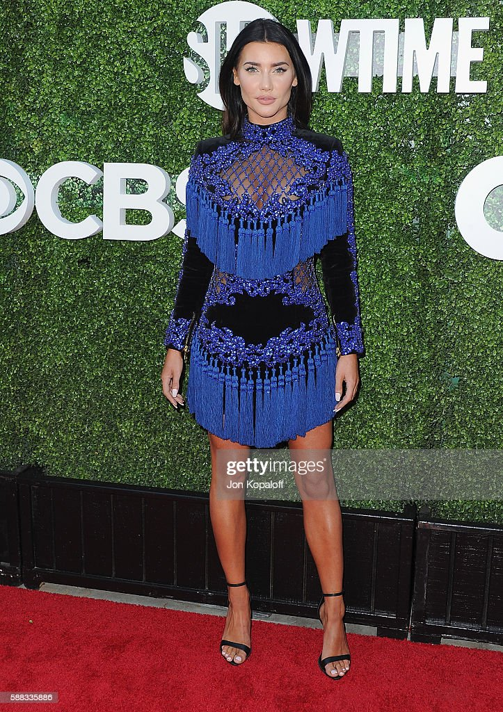 Actress Jacqueline MacInnes Wood arrives at CBS, CW, Showtime Summer TCA Party at Pacific Design Center on August 10, 2016 in West Hollywood, California.