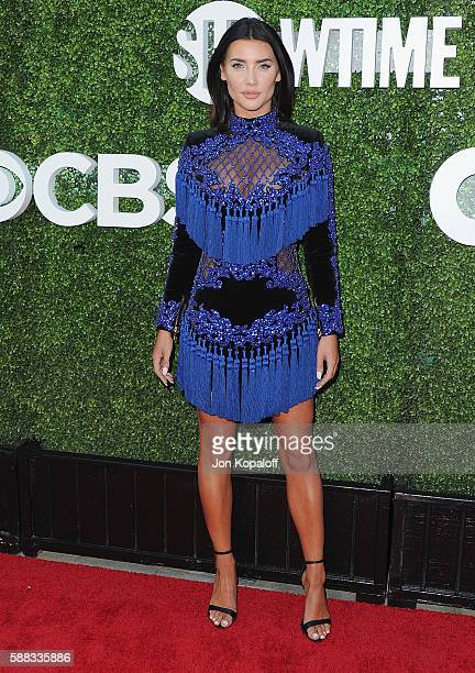 Actress Jacqueline MacInnes Wood arrives at CBS CW Showtime Summer TCA Party at Pacific Design Center on August 10 2016 in West Hollywood California