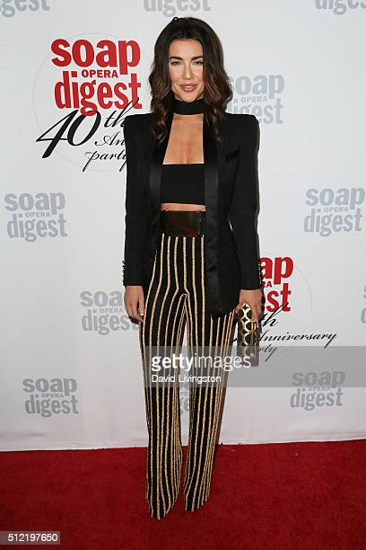 Actress Jacqueline MacInnes Wood arrives at the 40th Anniversary of the Soap Opera Digest at The Argyle on February 24 2016 in Hollywood California