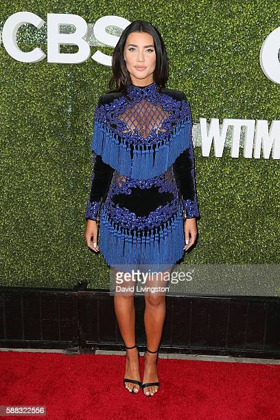 Actress Jacqueline MacInnes Wood arrives at the CBS CW Showtime Summer TCA Party at the Pacific Design Center on August 10 2016 in West Hollywood...