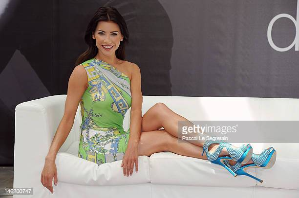 Actress Jacqueline MacInnes Wood attends a photocall for the TV Series 'The Bold And The Beautiful' during the 52nd Monte Carlo TV Festival on June...