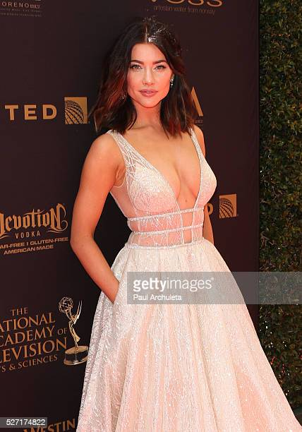 Actress Jacqueline MacInnes Wood attends the 2016 Daytime Emmy Awards at The Westin Bonaventure Hotel on May 1 2016 in Los Angeles California