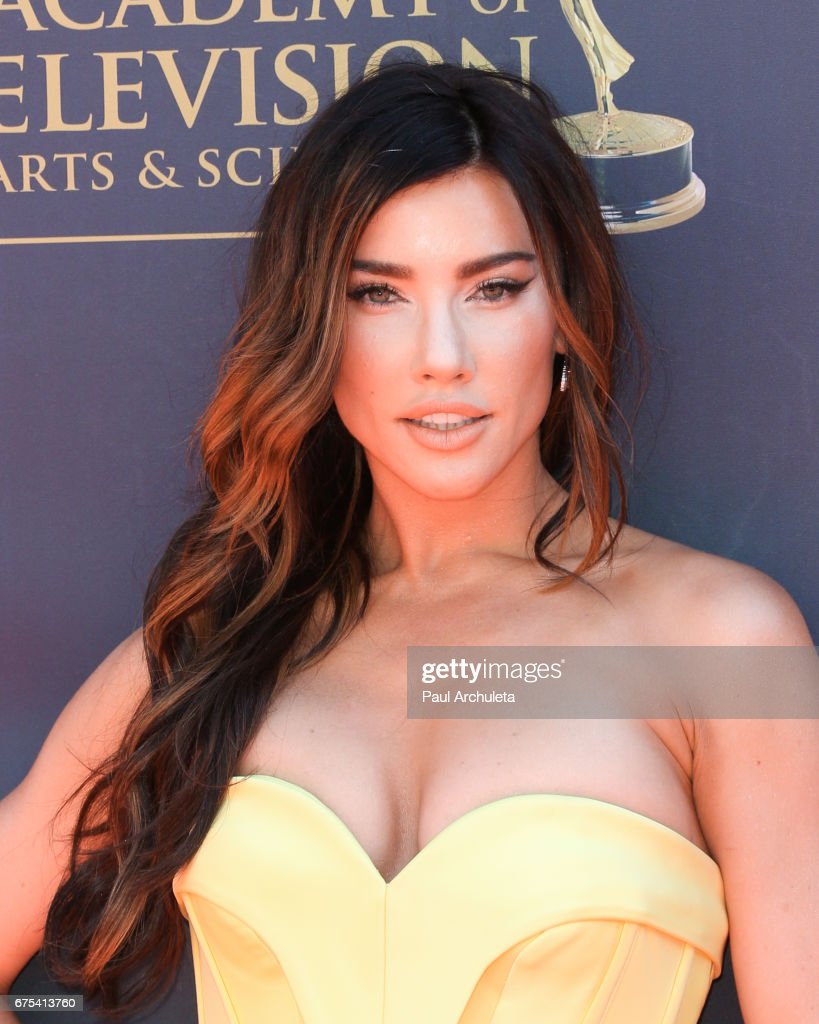 Actress Jacqueline MacInnes Wood attends the 44th annual Daytime Emmy Awards at Pasadena Civic Auditorium on April 30, 2017 in Pasadena, California.