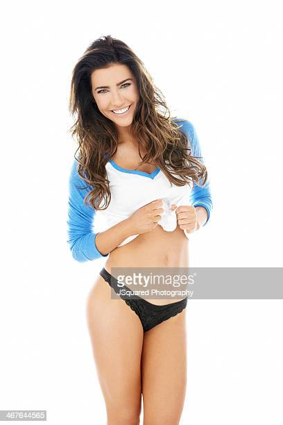 Actress Jacqueline MacInnes Wood is photographed for Self Assignment on October 3 2013 in Los Angeles California