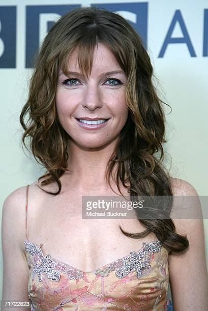 Actress Jacqueline MacKenzie arrives at the BAFTA/LAAcademy of Television Arts and Sciences Tea Party at the Century Hyatt on August 26 2006 in...