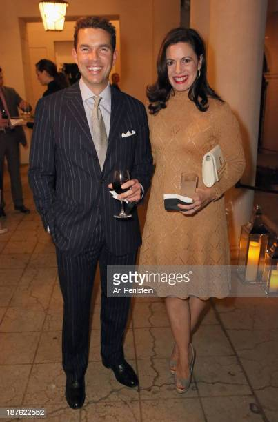 Actress Jacqueline Mazarella and guest attend Hamilton and Los Angeles Confidential Magazine's announcement of the 7th Annual Hamilton Behind The...