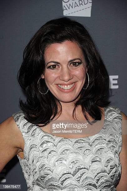 Actress Jacqueline Mazarella arrives at the 14th Annual Costume Designers Guild Awards With Presenting Sponsor Lacoste held at The Beverly Hilton...