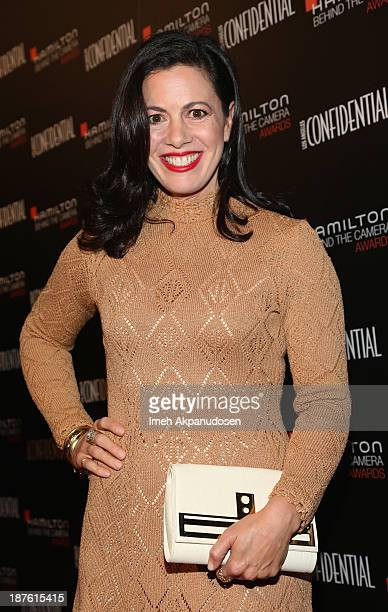 Actress Jacqueline Mazarella attends Hamilton and Los Angeles Confidential Magazine's announcement of the 7th Annual Hamilton Behind The Camera...
