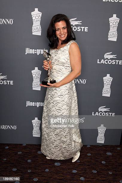 Actress Jacqueline Mazarella attends the 14th Annual Costume Designers Guild Awards With Presenting Sponsor Lacoste held at The Beverly Hilton hotel...