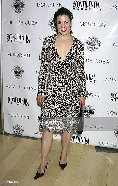Actress Jacqueline Mazarella attends the Los Angeles Confidential Magazine PreOscar Luncheon hosted by Haley and Jason Binn in Honor of cover beauty...