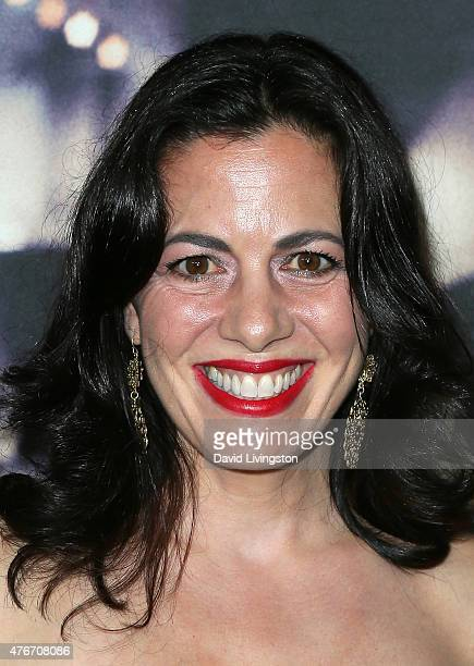 """Actress Jacqueline Mazarella attends the premiere of Abramorama's """"Live from New York!"""" at the Landmark Theatre on June 10, 2015 in Los Angeles,..."""