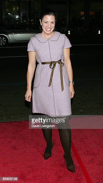 """Actress Jacqueline Mazarella attends the premiere of Overture Films' """"Nothing Like The Holidays"""" at Grauman's Chinese Theatre on December 3, 2008 in..."""