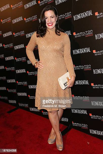 Actress Jacqueline Mazarella attends the Seventh Annual Hamilton Behind the Camera Awards at The Wilshire Ebell Theatre on November 10, 2013 in Los...