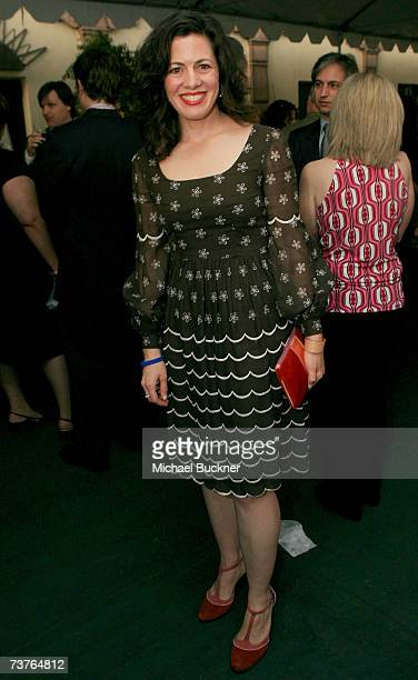 Actress Jacqueline Mazarella attends the VIP Reception during the 6th Annual Comedy For A Cure hosted by the Tuberous Sclerosis Alliance held at The...