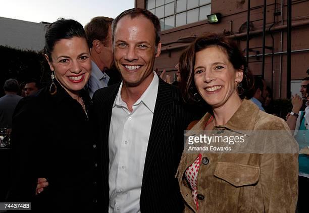 Actress Jacqueline Mazarella, Christopher Grubb and Joanne Mazarella attend the Davante Rodeo Store opening with Roberto Cavalli Eyewear on June 7,...