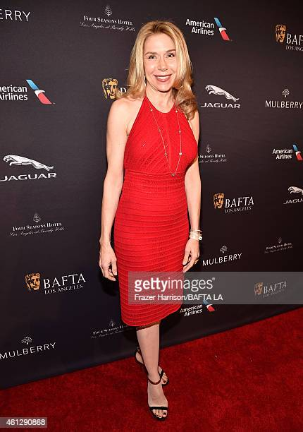 Actress Jacqueline Murphy attends the BAFTA Los Angeles Tea Party at The Four Seasons Hotel Los Angeles At Beverly Hills on January 10, 2015 in...