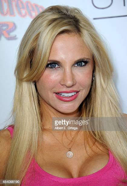 Actress Jacqui Holland Arrives At W Hotel Station Clubs Annual Emmy Party Held At W Hollywood