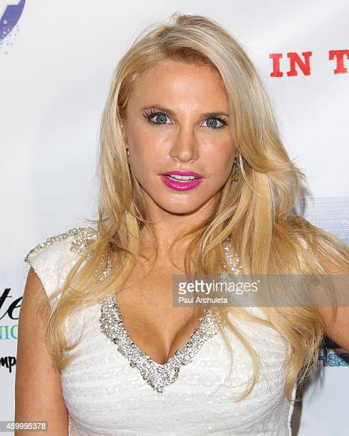 Actress Jacqui Holland Attends The 7th Annual Babes In Toyland Charity Toy Drive Benefiting