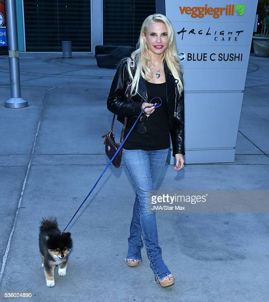 Actress Jacqui Holland is seen on May 30 2016 in Los Angeles California