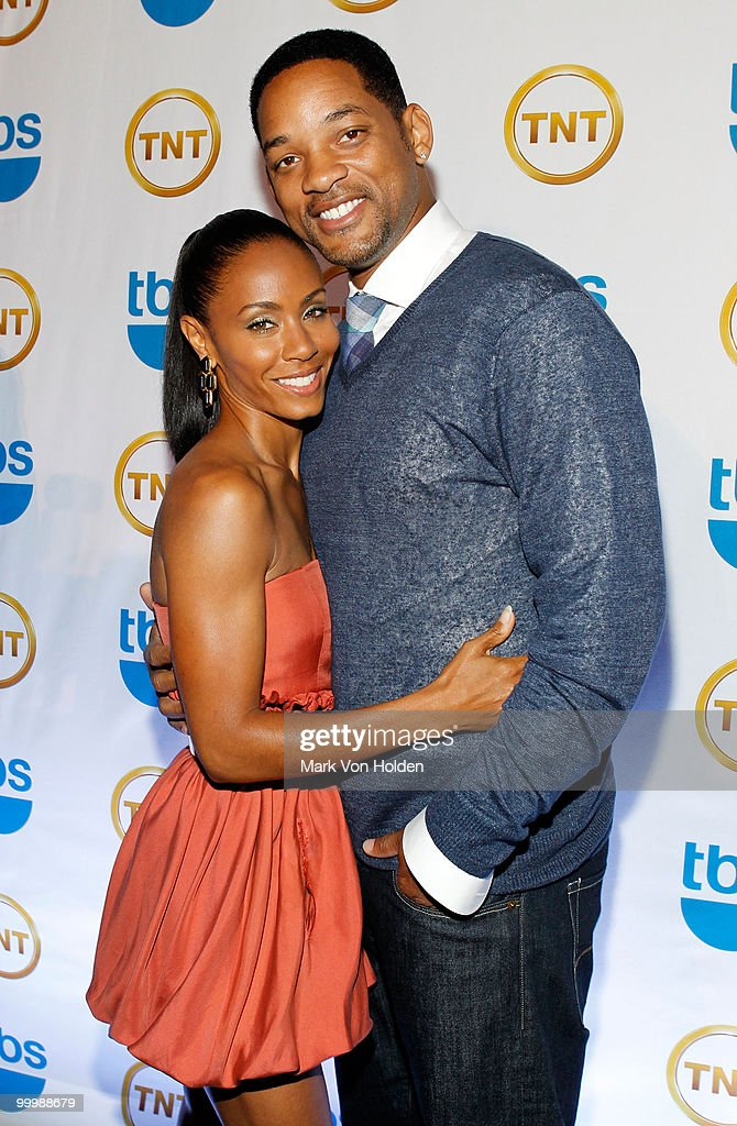 Actress Jada Pinkett Smith and Actor Will Smith attend the TEN Upfront presentation at Hammerstein Ballroom on May 19, 2010 in New York City. 19688_003_0170.JPG