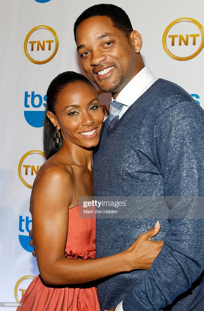 Actress Jada Pinkett Smith and Actor Will Smith attend the TEN Upfront presentation at Hammerstein Ballroom on May 19, 2010 in New York City. 19688_003_0173.JPG