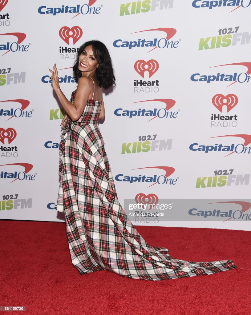 Actress Jada Pinkett Smith arrives at 102.7 KIIS FM's Jingle Ball 2017 at The Forum on December 1, 2017 in Inglewood, California.