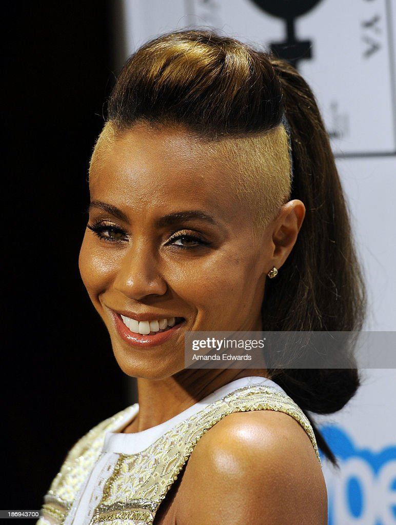 Actress Jada Pinkett Smith arrives at the Equality Now 'Make Equality Reality' event at Montage Beverly Hills on November 4, 2013 in Beverly Hills, California.