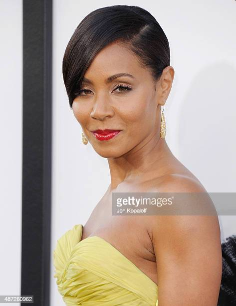 Actress Jada Pinkett Smith arrives at the Los Angeles Premiere 'Magic Mike XXL' at TCL Chinese Theatre IMAX on June 25 2015 in Hollywood California