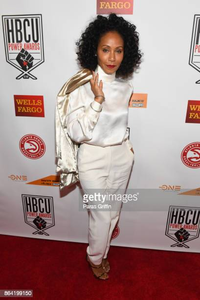Actress Jada Pinkett Smith at 2017 HBCU Power Awards at Morehouse College on October 20 2017 in Atlanta Georgia