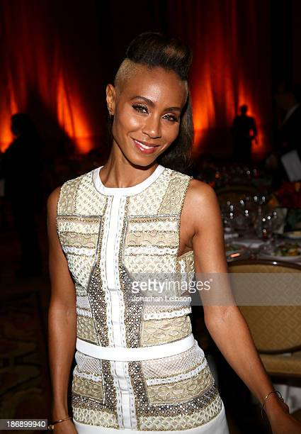 Actress Jada Pinkett Smith attends Equality Now presents Make Equality Reality at Montage Hotel on November 4 2013 in Los Angeles California