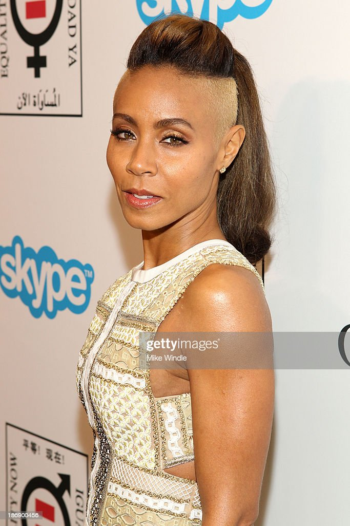 Actress Jada Pinkett Smith attends Equality Now presents 'Make Equality Reality' at Montage Hotel on November 4, 2013 in Los Angeles, California.