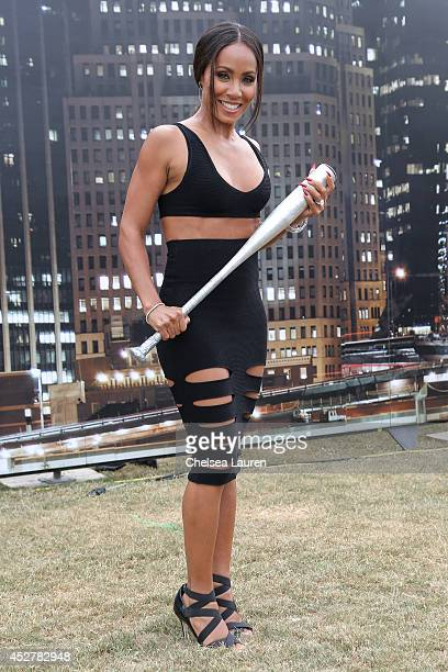 Actress Jada Pinkett Smith attends 'Gotham' Zip Line during ComicCon International on July 26 2014 in San Diego California