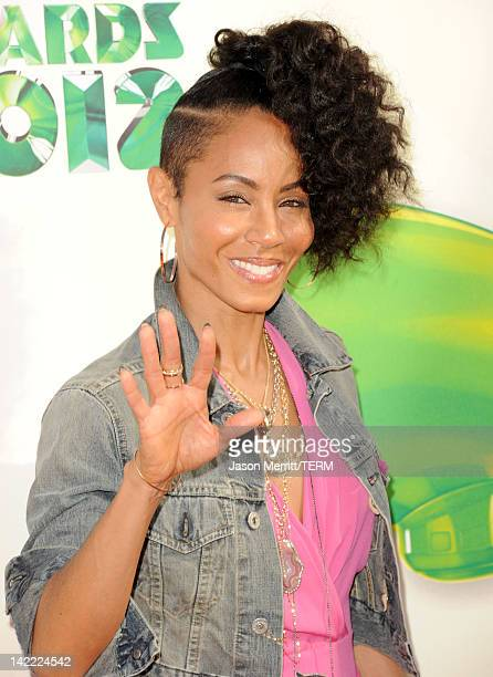Actress Jada Pinkett Smith attends Nickelodeon's 25th Annual Kids' Choice Awards held at Galen Center on March 31 2012 in Los Angeles California