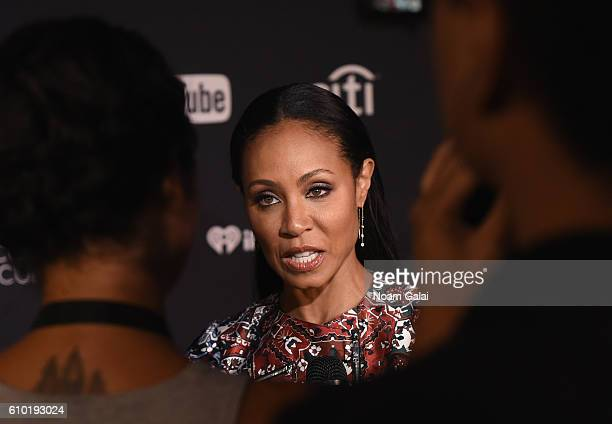 Actress Jada Pinkett Smith attends the 2016 Global Citizen Festival In Central Park To End Extreme Poverty By 2030 at Central Park on September 24...