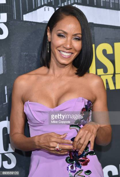 Actress Jada Pinkett Smith attends the 2017 CMT Music Awards at the Music City Center on June 7 2017 in Nashville Tennessee